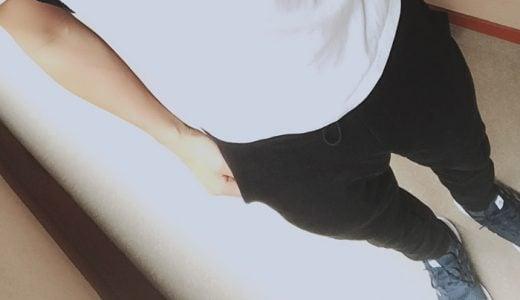 ナイキテックフリースパンツ(Nike Tech Fleece Pants)の感想。コーデ、サイズ感など。