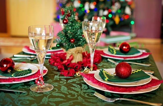 クリスマスのディナー